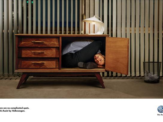 Volkswagen Print Ad -  Office