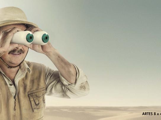 Vixen Binoculars Outdoor Ad - Explorer
