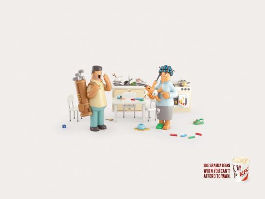 KFC Print Ad -  All-nighter
