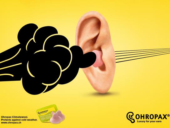 Ohropax Print Ad -  Weather