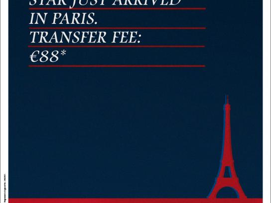 Eurostar Print Ad -  Transfer