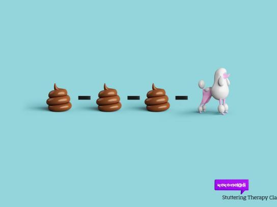 Kekemelodi Outdoor Ad -  Poodle