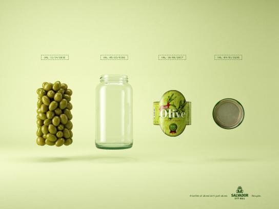 Salvador City Hall Print Ad - Olives