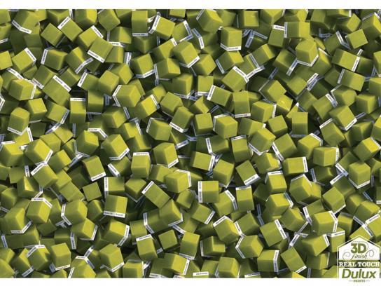 Dulux Print Ad -  3D finish - olive