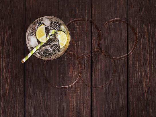 Carioca Drinks Print Ad - Caipirinha