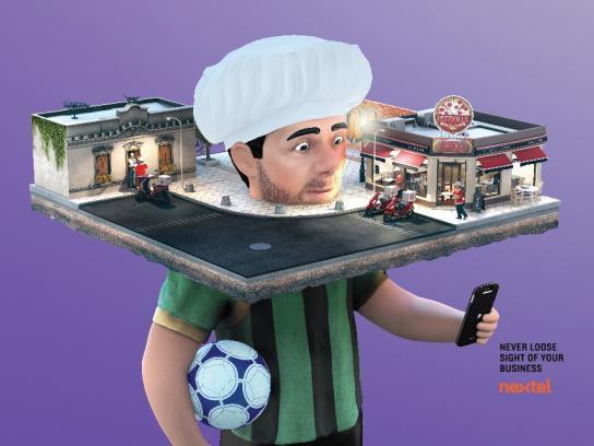 Nextel Print Ad - Game