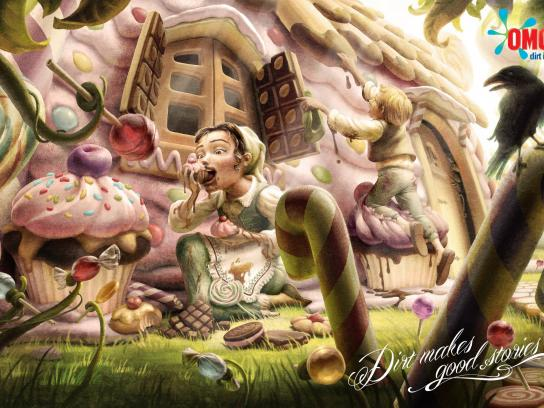 OMO Print Ad -  Hansel and Gretel