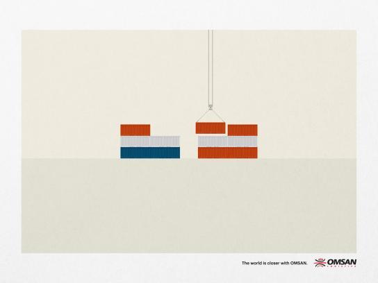 Omsan Logistics Print Ad -  Closer, 1