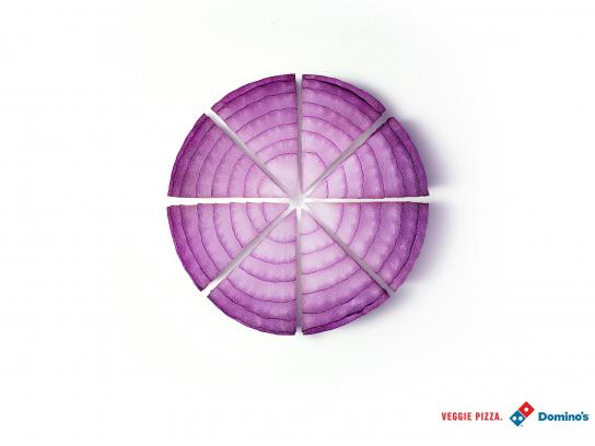 Domino's Pizza Print Ad -  Onion