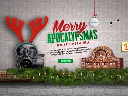 Rethink Digital Ad -  Apocalypsmas.ca