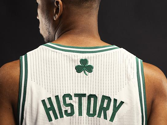 Celtics Outdoor Ad - History