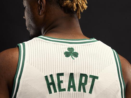 Celtics Outdoor Ad - Heart