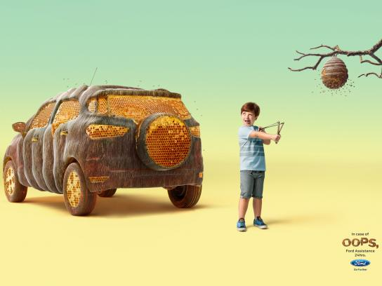 Ford Print Ad - Hive