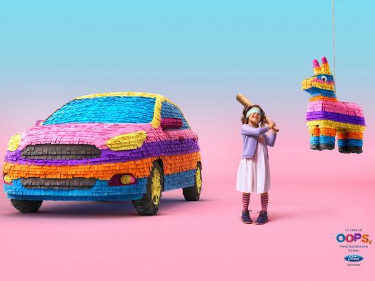Ford Print Ad - Piñata