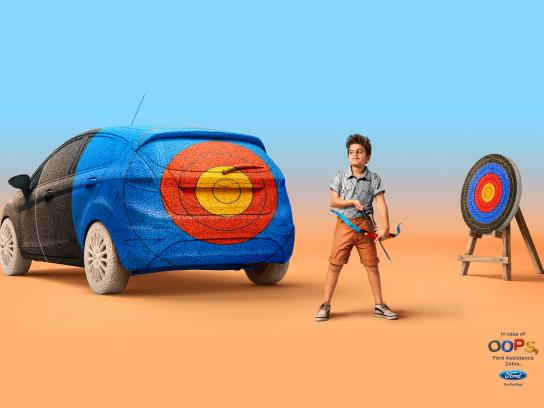 Ford Print Ad - Target