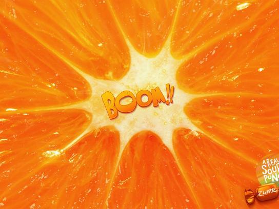 Zumo Outdoor Ad - Orange