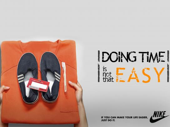 Nike Print Ad - Orange is the new Black