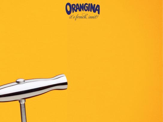 Orangina Print Ad -  Corkscrew