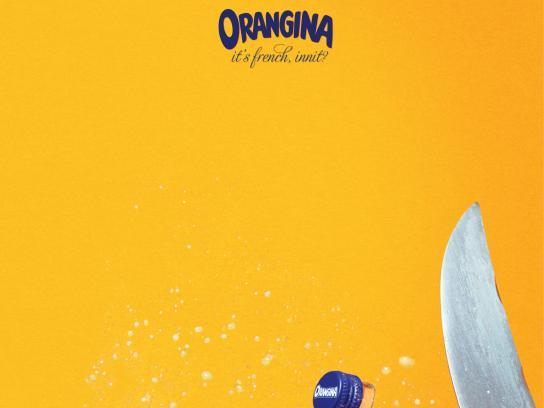 Orangina Print Ad -  Sabre