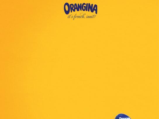 Orangina Print Ad -  Bucket