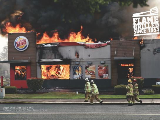 Burger King Print Ad - Oregon