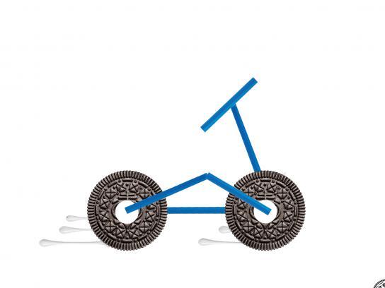Oreo Print Ad - Bicycle Day
