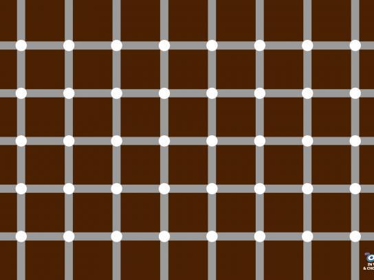 Oreo Print Ad -  Optical Illusion