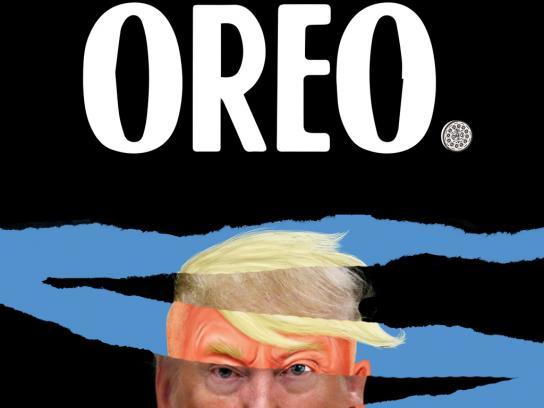 Oreo Print Ad - Everything is fun with Oreo - Trump