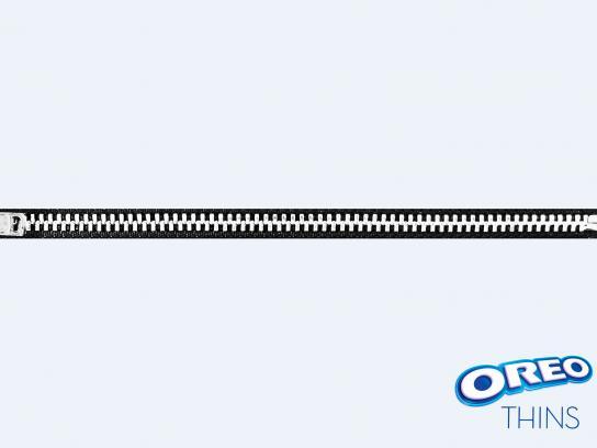 Oreo Print Ad - Zipper