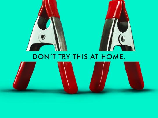 Orion Print Ad - Don't try this at home, 4