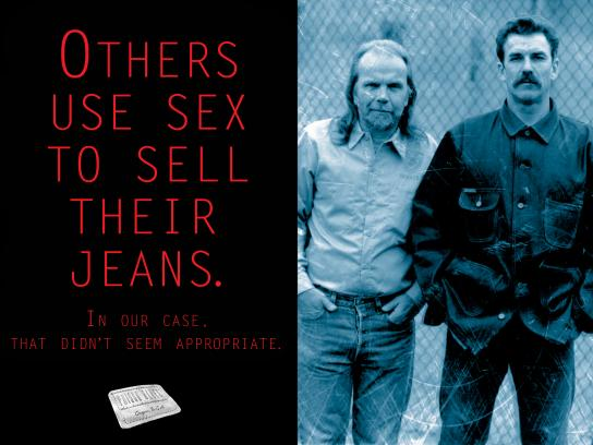 Prison Blues Print Ad - Other Use Sex