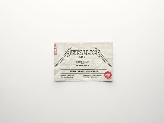 Oui FM Outdoor Ad -  Tickets, 1