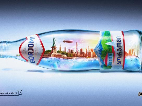 Borjomi Print Ad -  New York