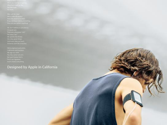 Apple Print Ad -  Our Signature, 3