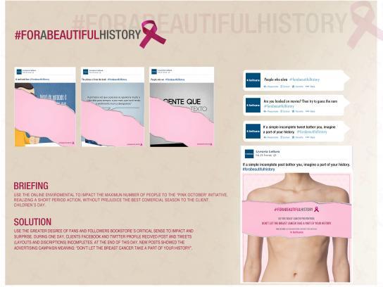 Leitura Bookstore Digital Ad -  #forabeautifulhistory