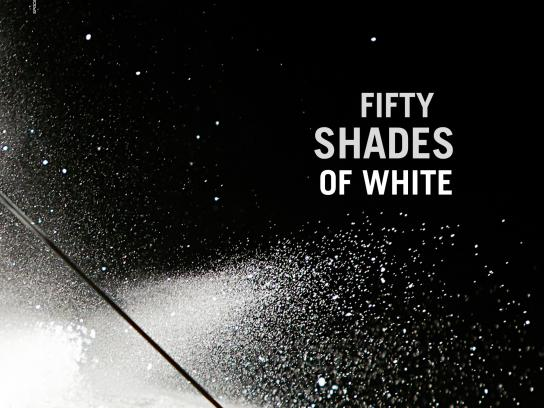 Oslo Vinterpark Print Ad -  Fifty shades
