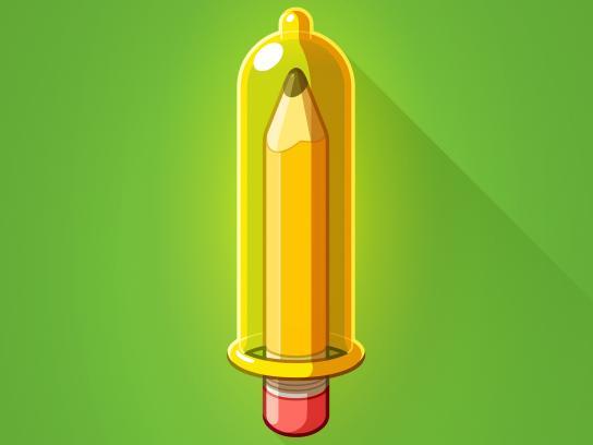 Oxfam Print Ad - Pencil