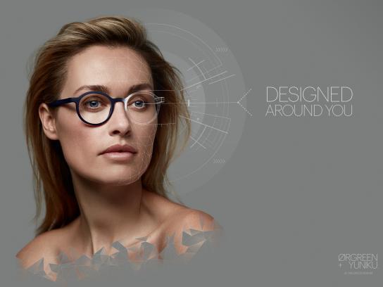 Ørrgreen + Yuniku Print Ad - Designed Around You - Joyce