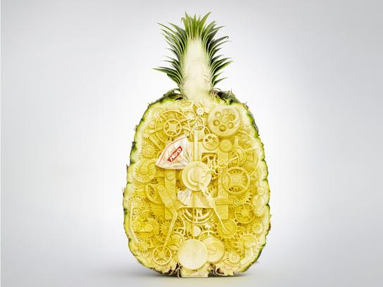 Hero Print Ad -  Pineapple