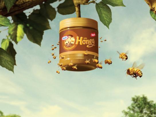 Kraft Print Ad -  Beehive