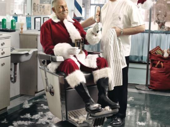 Snickers Print Ad -  Santa