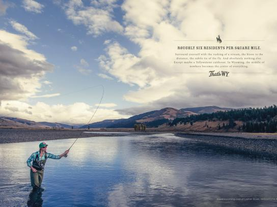 Wyoming Office of Tourism Print Ad -  Residents