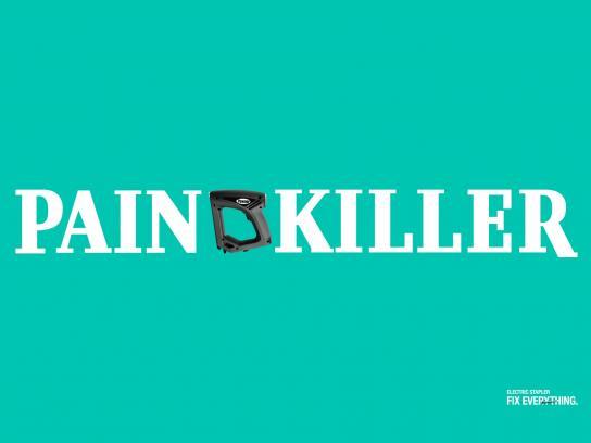Powner Print Ad -  Painkiller