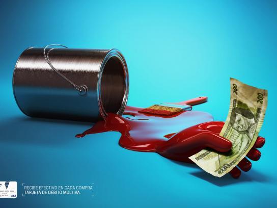 Banco Multiva Print Ad -  Paint