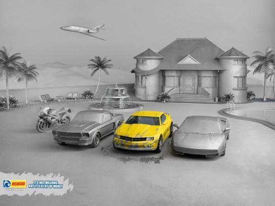 Hishgad Print Ad -  Car