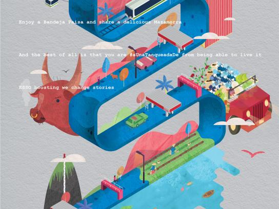 ExxonMobil Print Ad - Paisa