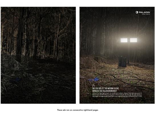 Paladin Case Lights Print Ad -  Search&Rescue