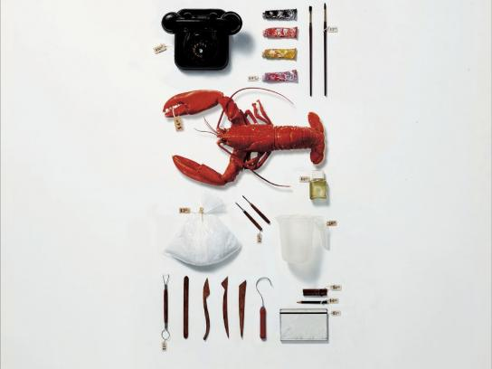 Panamericana School of Art and Design Print Ad -  Lobster Telephone