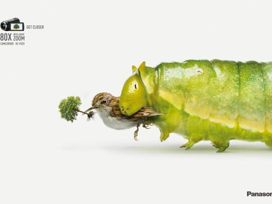 Panasonic Print Ad -  Caterpillar