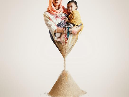 Amnesty International Outdoor Ad -  Minute of hope, 1